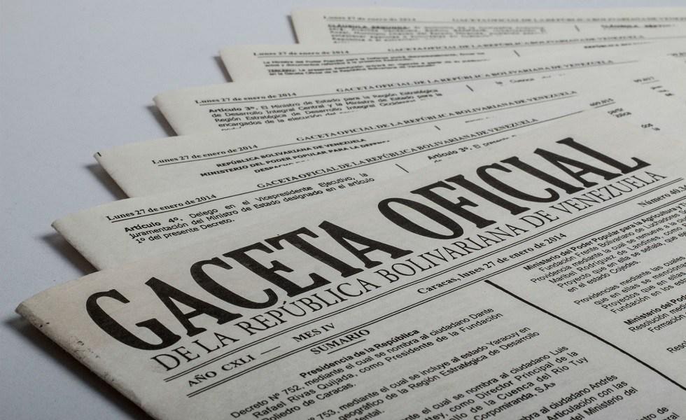 Gaceta Oficial Extraordinaria N° 6396 Reforma de la Ley IVA